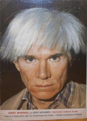 Potrait Of Andy Warhol Poster, Eddy Novarro