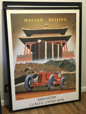 Louis Vuitton China Run Poster/print, Razzia