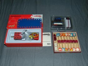 Marklin Z-scale Train, Marklin Motor & Auto Set