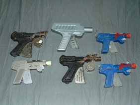 Lot Of Assorted Paper Popper Toy Guns