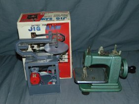 Rosko Jig Saw & Betsy Ross Sewing Machine