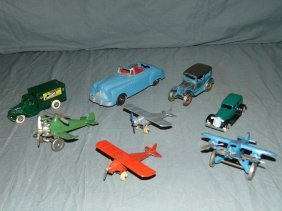Mixed Hubley & Tootsietoy Vehicle Lot