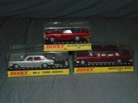 Dinky No.128, 153, & 164 In Original Boxes