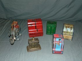Assorted Coin Bank Lot