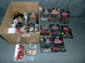 Box Lot Of Modern Diecast, New In Packages