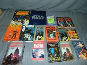 Star Wars Book Lot Including First Editions
