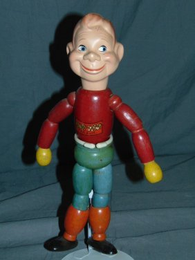 Howdy Doody Ideal Wood Jointed Doll