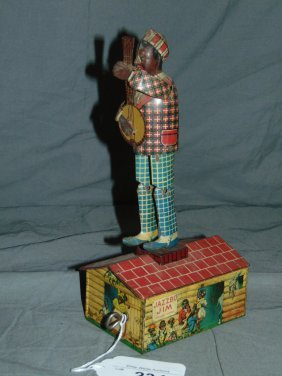 Unique Art Jazzbo Jim Tin Windup Toy