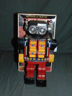 Boxed Rotate-o-matic Super Robot, Japan