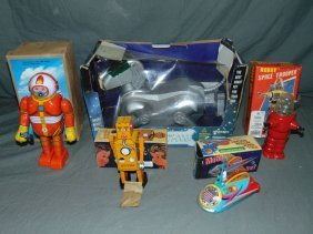 Lot Of Assorted Space Toys