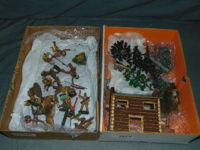 Assorted Soldier & Figure Lot Including Elastolin