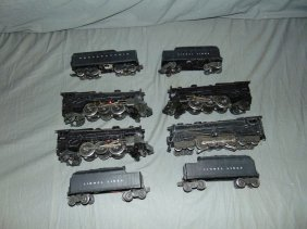 Lot Of 4 Postwar Steam Locos And Tenders