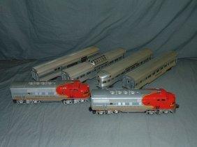 Lionel 2353 F-3 Sf Diesels & Passenger Cars