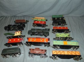 Lionel Pre-war Lot, Locos, Tenders, Freight Cars