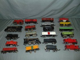 Large Lot Of American Flyer O & S Gauge