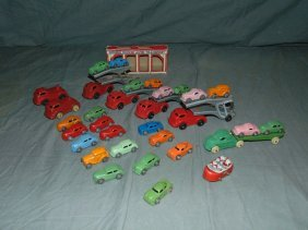 Toy Vehicle Lot.