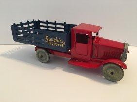 Metalcraft Pressed Steep Sunshine Biscuits Truck