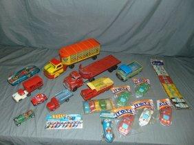 Toy Vehicle Lot.