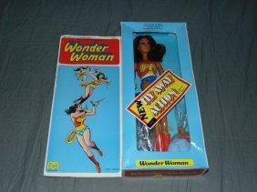 "1976 Mib Mego Fly Away Wonder Woman 12"""