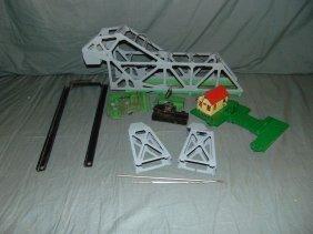 Lionel #313 Bascule Bridge, Disassembled