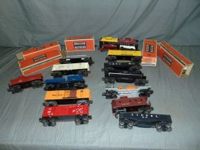 Lionel Postwar Freight Car Lot