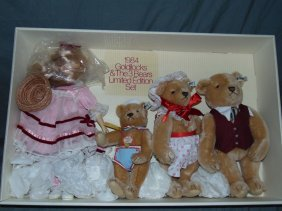 Suzanne Gibson Goldilocks & 3 Bears Set