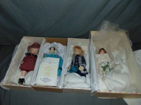 Lot Of 4 Boxed Effanbee Dolls