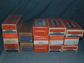 Lot Of Lionel Freight Cars & Gang Cars