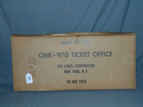 Sealed Lionel #970 Ticket Booth