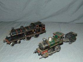 European Train Engine Lot.