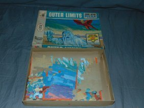 1964 Outer Limits Tv Jigsaw Puzzle