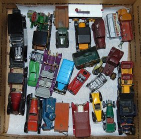 Assorted Diecast Toy Vehicle Lot