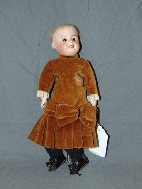 French Bisque Head Doll Sfbj 60