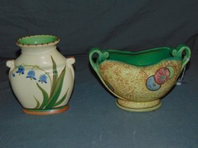 2 Piece Weller Pottery Lot