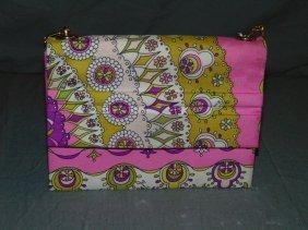 Emilio Pucci Silk Clutch Handbag / Purse.