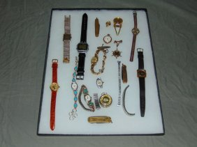 Tray Lot Of Jewelry.