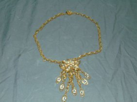 Miriam Haskell Costume Necklace