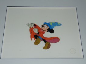 Walt Disney Sericel. Sorcerer's Apprentice.