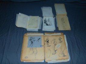 Otto Kubel (1836 - 1900) Sketchbook Archive.