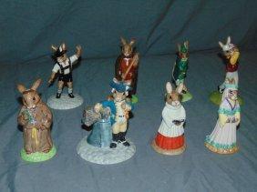 (8) Doulton Bunnykins, Robin Hood Collection