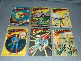 Superman Golden Age Lot.