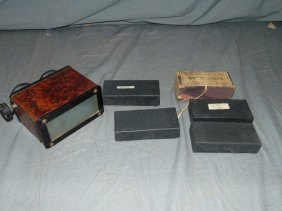 Stereo Viewer and Glass Slides.