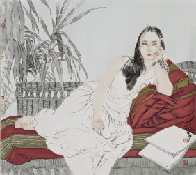A Chinese Scroll Painting, After He Jiaying