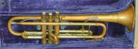 BESSON STRATFORD COPPER TONE TRUMPET IN