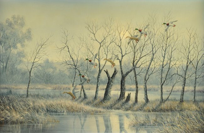 J.W. THRASHER (American/Texas b. 1940) A PAINTINGS,
