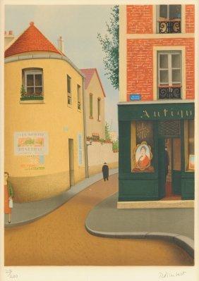 "Rene Rimbert (french 1896-1991), A Print, ""french"