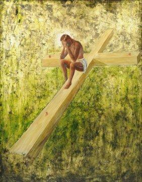 """Karl Koenig (austrian, 1902-1966) A Painting, """"in"""