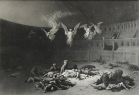 Paul Gustave Dore (french 1832-1883) A Steel Engraved