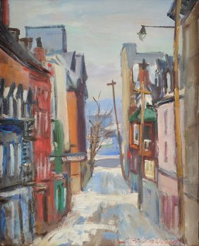 Lionel Fielding Downes (canadian 1900-1972) A Painting,