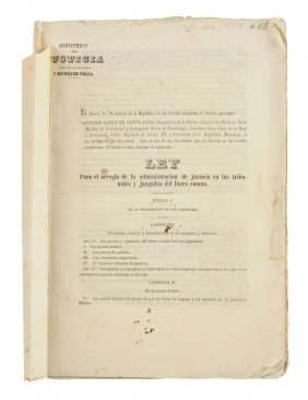 A First Printing Of The Revised Judicial Code